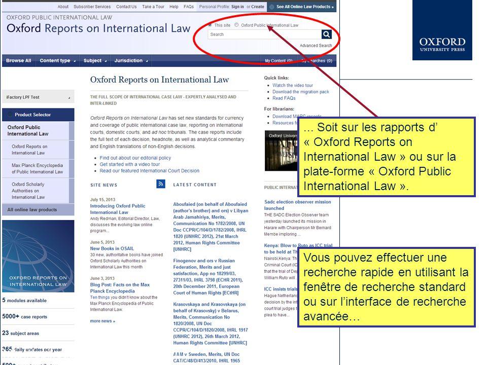 Vous pouvez assister à des présentations similaires sur d'autres ressources électroniques d'Oxford University Press dans le Librarian Resource Center www.oup.com/uk/academic/online/librarians