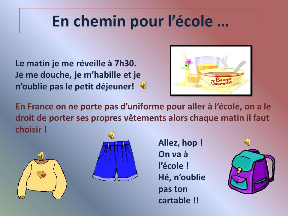 Salut ! Je m'appelle Léa Dubois, j'ai 11 ans et j'habite à Paris. Cette année, je suis en 6 ème ! Et j'ai hâte de te montrer comment c'est l'école ici