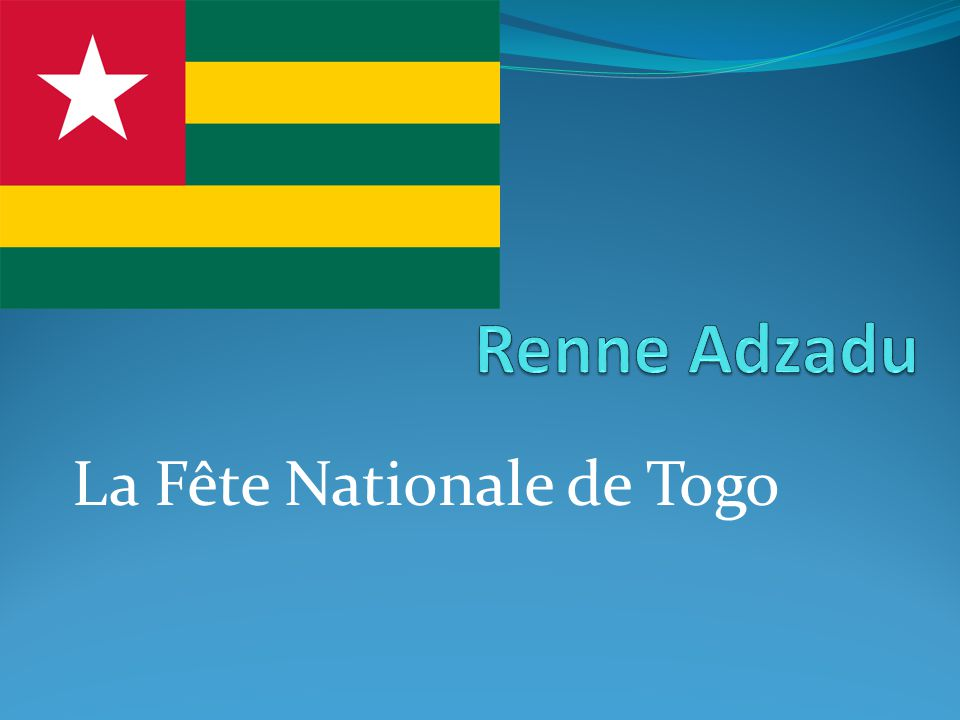 La Fête Nationale de Togo