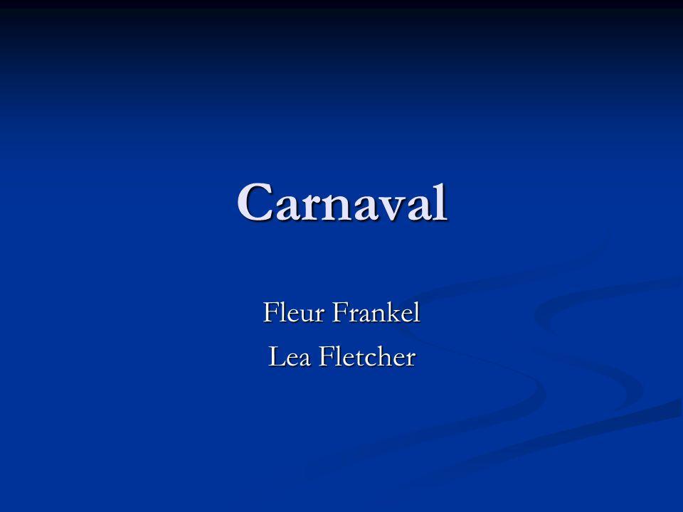 Carnaval Fleur Frankel Lea Fletcher