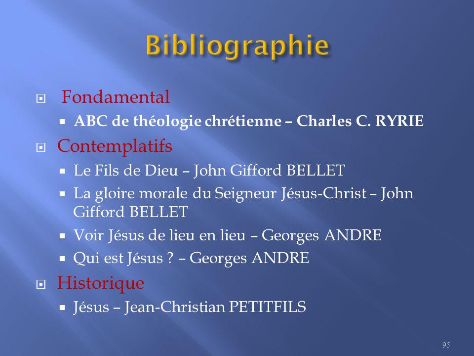  Fondamental  ABC de théologie chrétienne – Charles C.