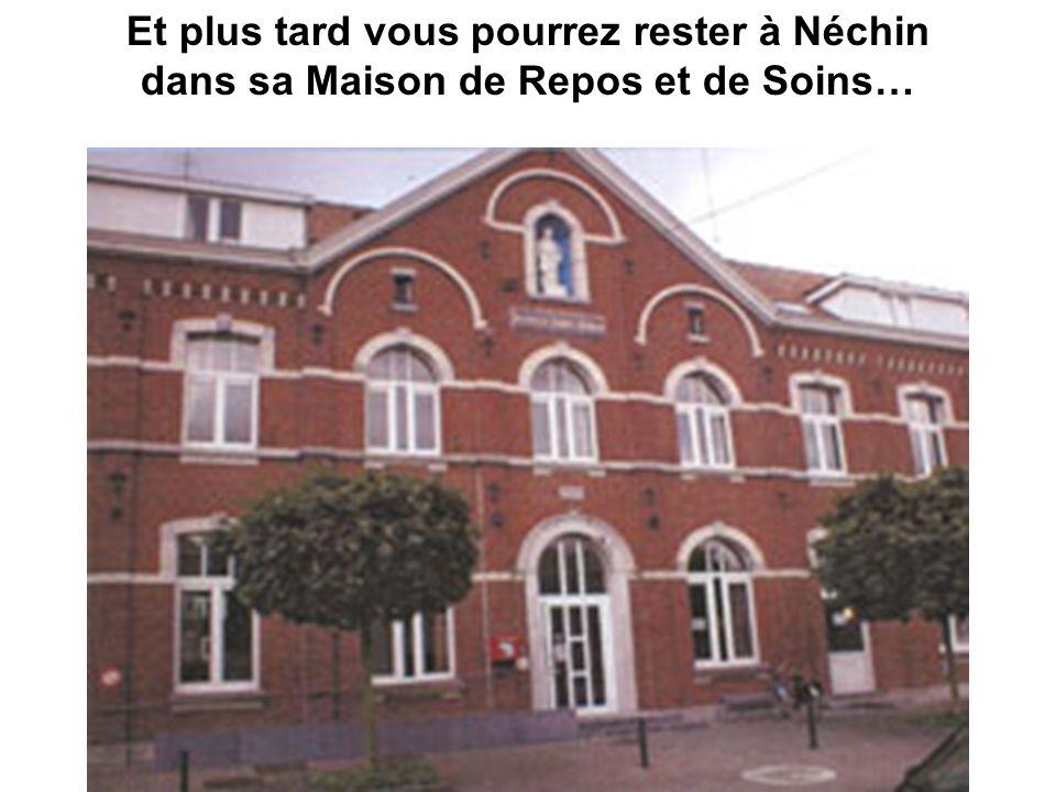 Son église du Sacré Coeur Même LOUIS XIV est venu à Néchin..!