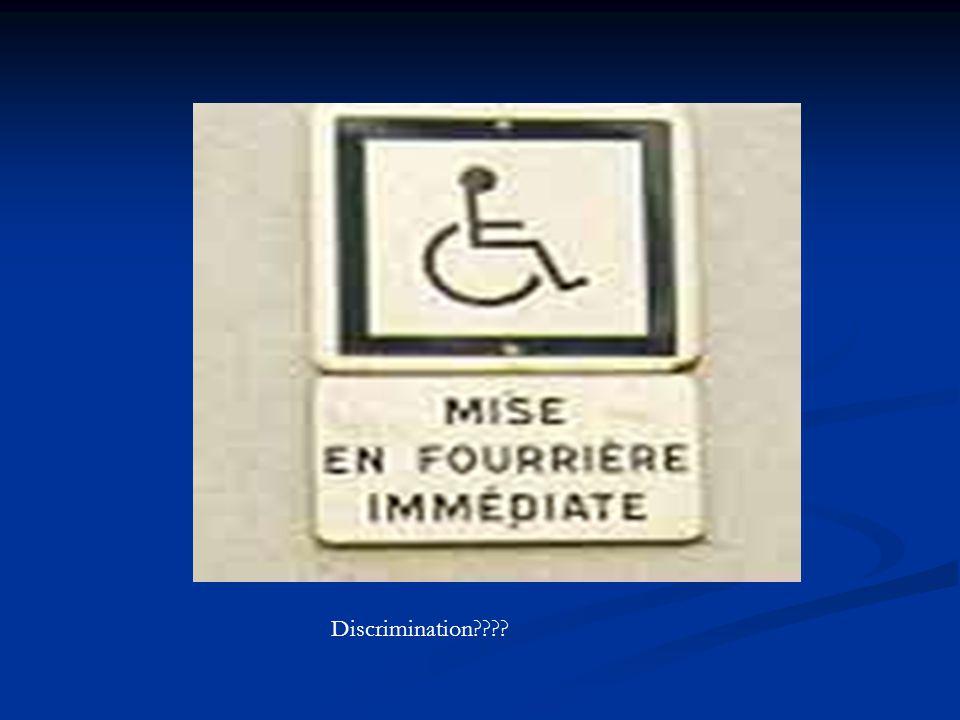 Discrimination????