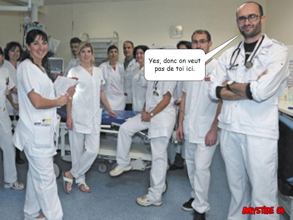 Aux urgences aussi, c est des fonctionnaires, PATATE.