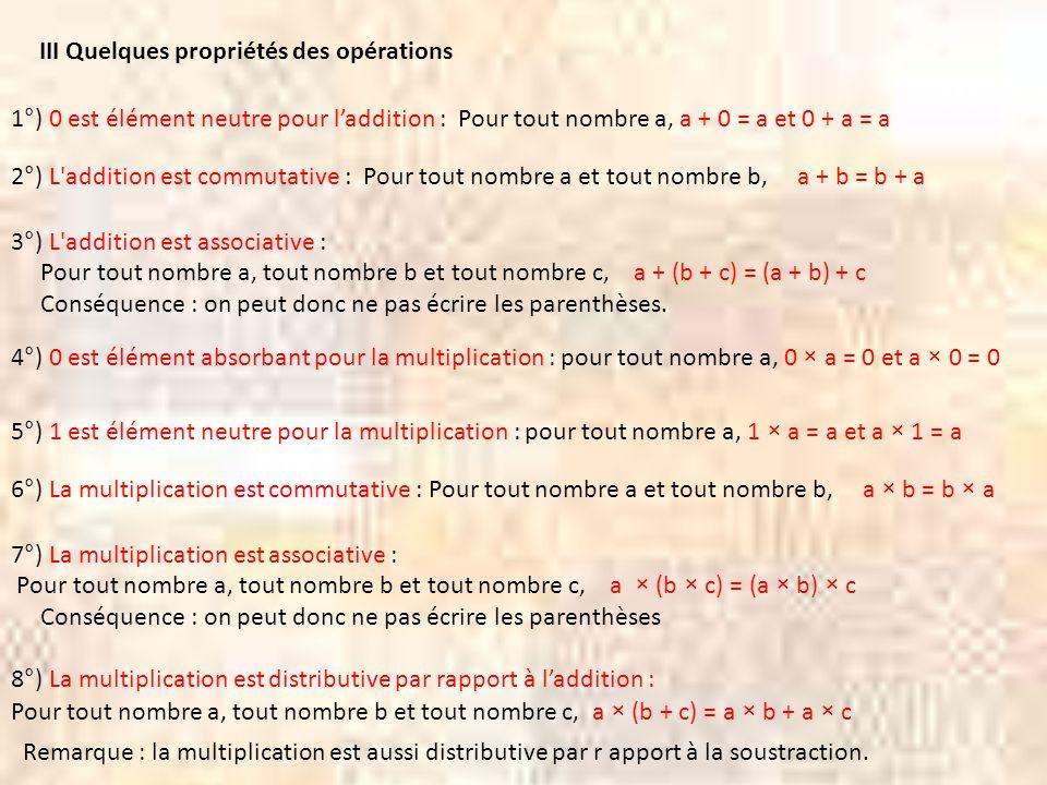 Dans une situation où on fabrique des « paquets » en partageant équitablement des objets - la division peut servir à trouver combien il y a d'objets dans chaque « paquet » quand on connaît le nombre total d'objets et le nombre de « paquets » (division-partition) - la division peut servir à trouver le nombre de « paquets » quand on connaît le nombre total d'objets et le nombre d'objets dans chaque « paquet » (division-quotition) IV La division euclidienne 1°) Les deux significations de la division euclidienne