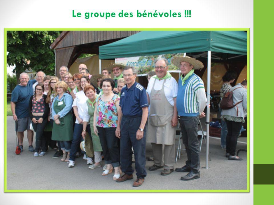 Le groupe des bénévoles !!!