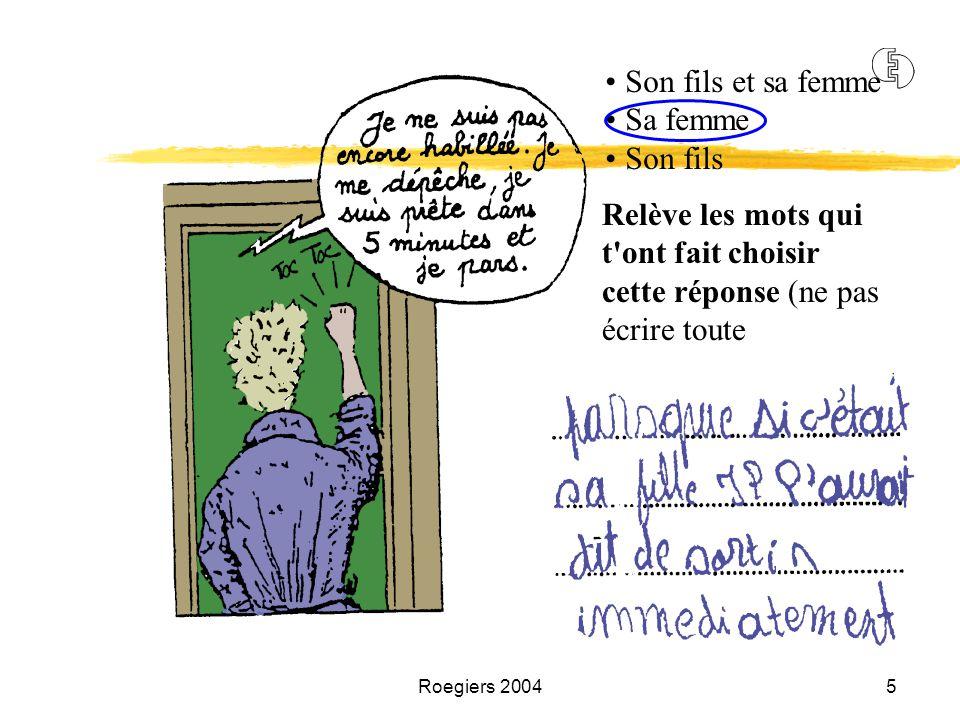 Roegiers 20046 4Evaluer des compétences nécessite de recourir à des situations complexes.