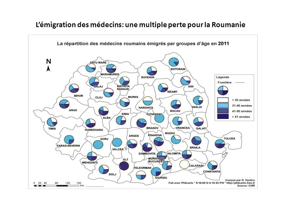 L'émigration des médecins: une multiple perte pour la Roumanie