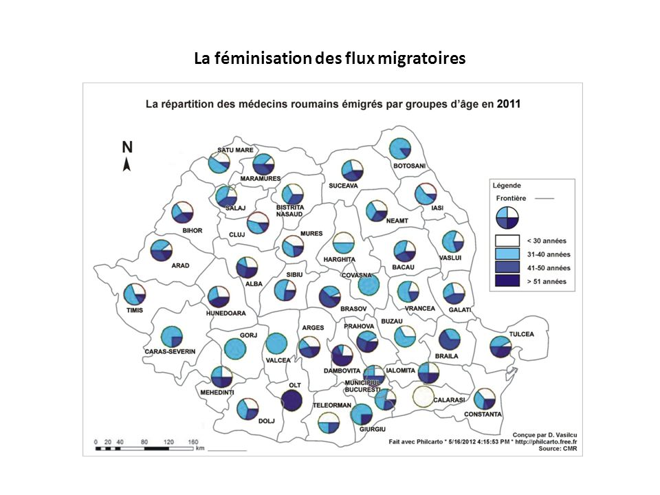 Les retombées de la migration des professionnels de santé  Déséquilibres majeurs dans le système roumain de santé  Hausse du déficit de personnel de santé  Diminution des chances de traitement égal des patients roumains  impossibilité et de fournir des services de santé de qualité