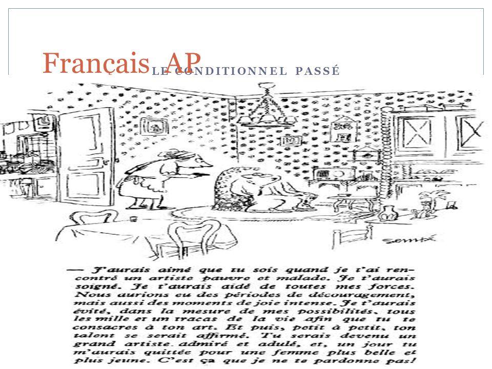 LE CONDITIONNEL PASSÉ Français AP