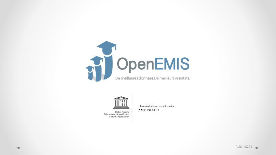 V20140221 Une initiative coordonnée par l UNESCO