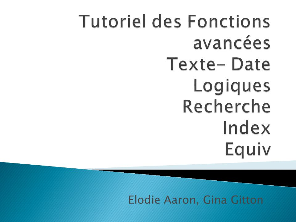VendeurVentesDonnées Duerr2 80039300,625 Weiler0,4 FormuleDescriptionRésultat =A2& a vendu pour &TEXTE(B2; 0,00 F )& d articles. Combine la cellule A2, la chaîne de texte « a vendu », la cellule B2 (au format monétaire) et la chaîne de texte « d'articles.