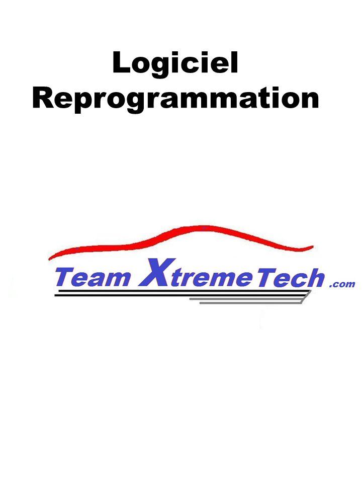 Logiciel Reprogrammation