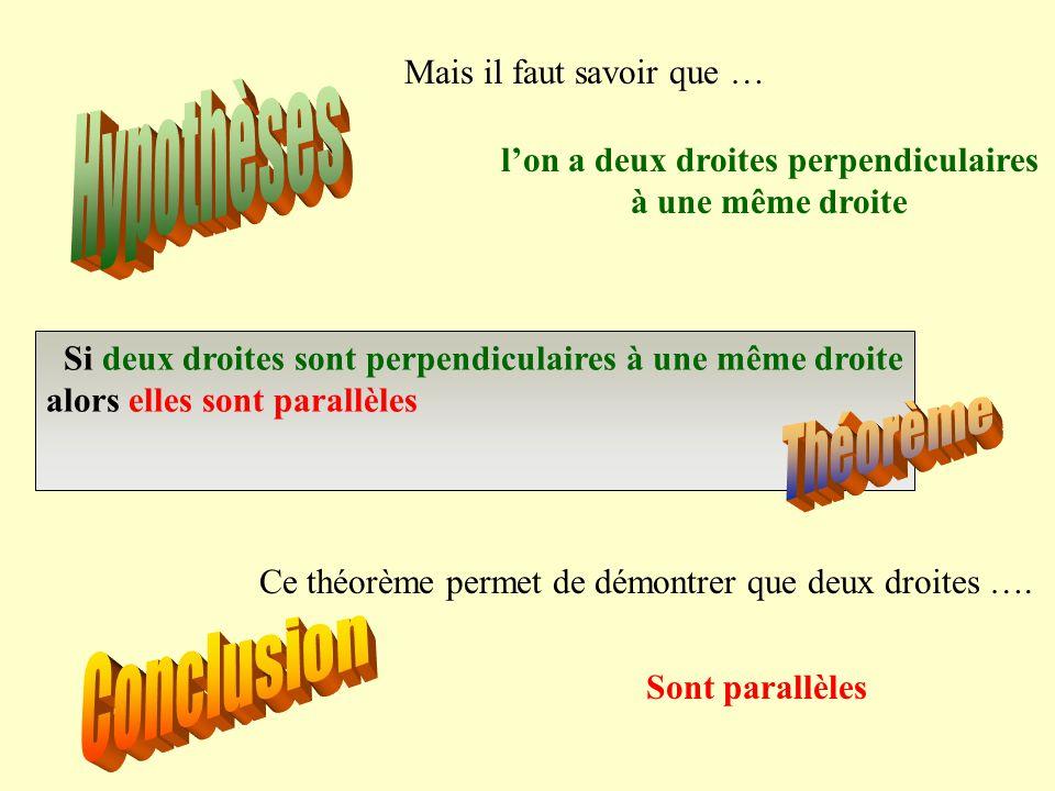 (u) A B (d)(d') Comment démontrer que deux droites sont parallèles  Si deux droites sont symétriques par rapport à un point alors elles sont parallèl