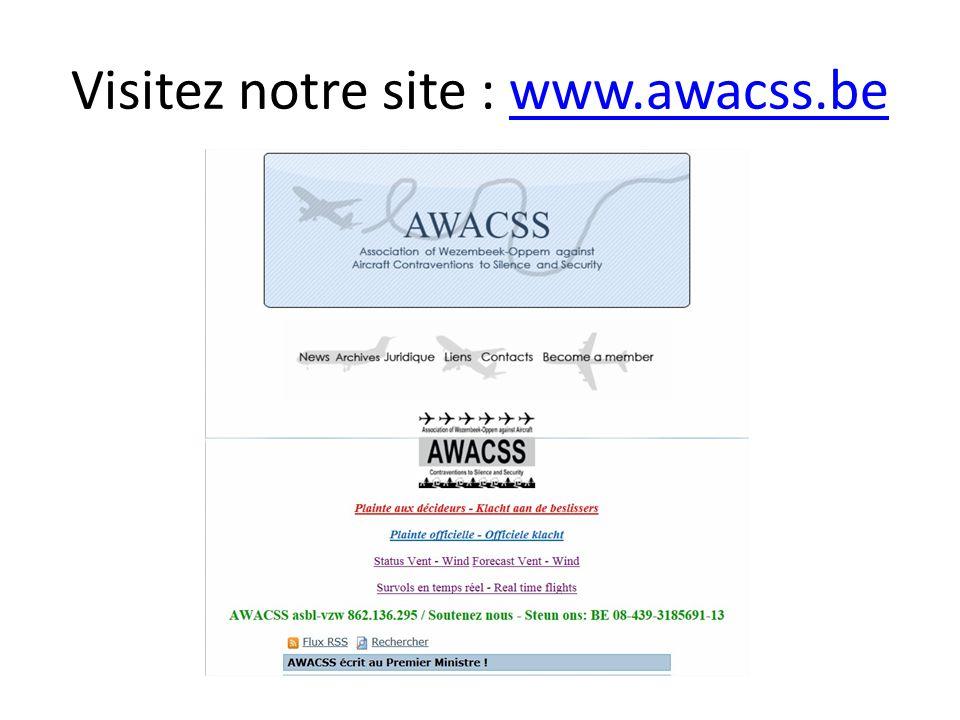 Visitez notre site : www.awacss.bewww.awacss.be