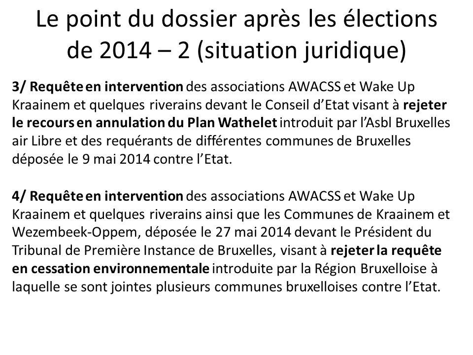 Focus sur la sixième phase du « Plan Wathelet » Au départ de la piste 25R, éclatement du virage gauche en deux routes, depuis le 6 février 2014 : Route « Virage court », le nord de Kraainem / Wezembeek sont survolés par les avions passant au sud de la ville de Liège (LNO/SPI).