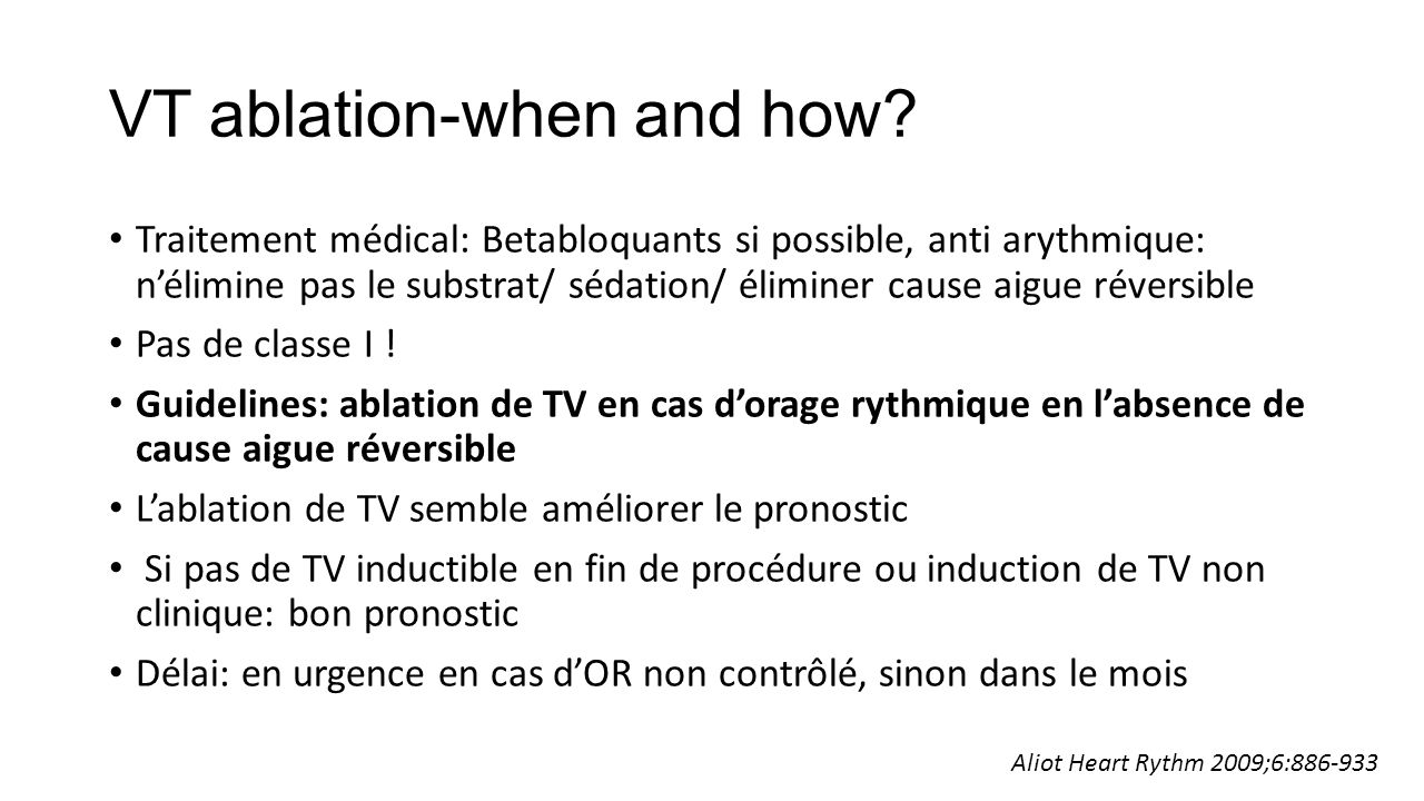 VT ablation-when and how.