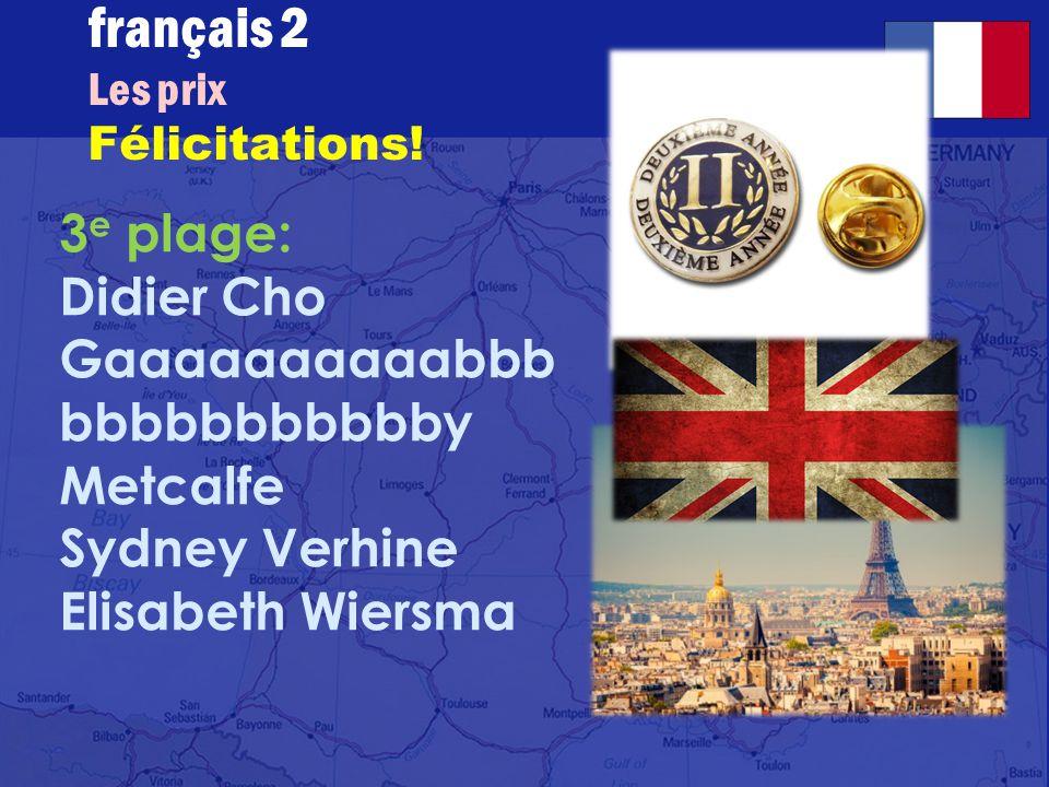 français 2 le 5-6 juin 2014 ActivitéClasseur I.