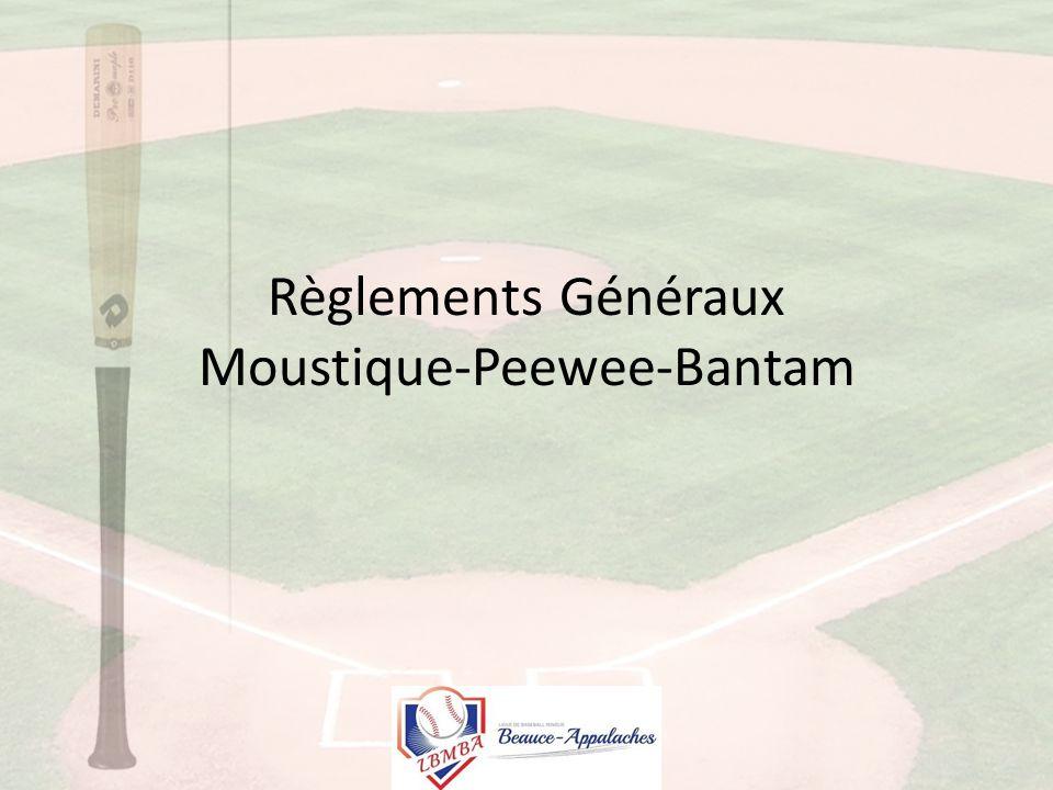 Règlements Généraux Moustique-Peewee-Bantam