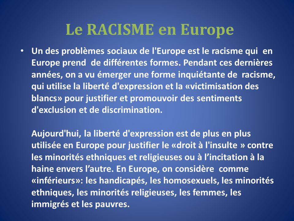 Immigrati in Europa Immigrants in Europe Immigrants en Europe
