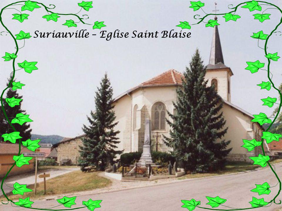 Saulxures les Bulgnéville Eglise Saint Martin