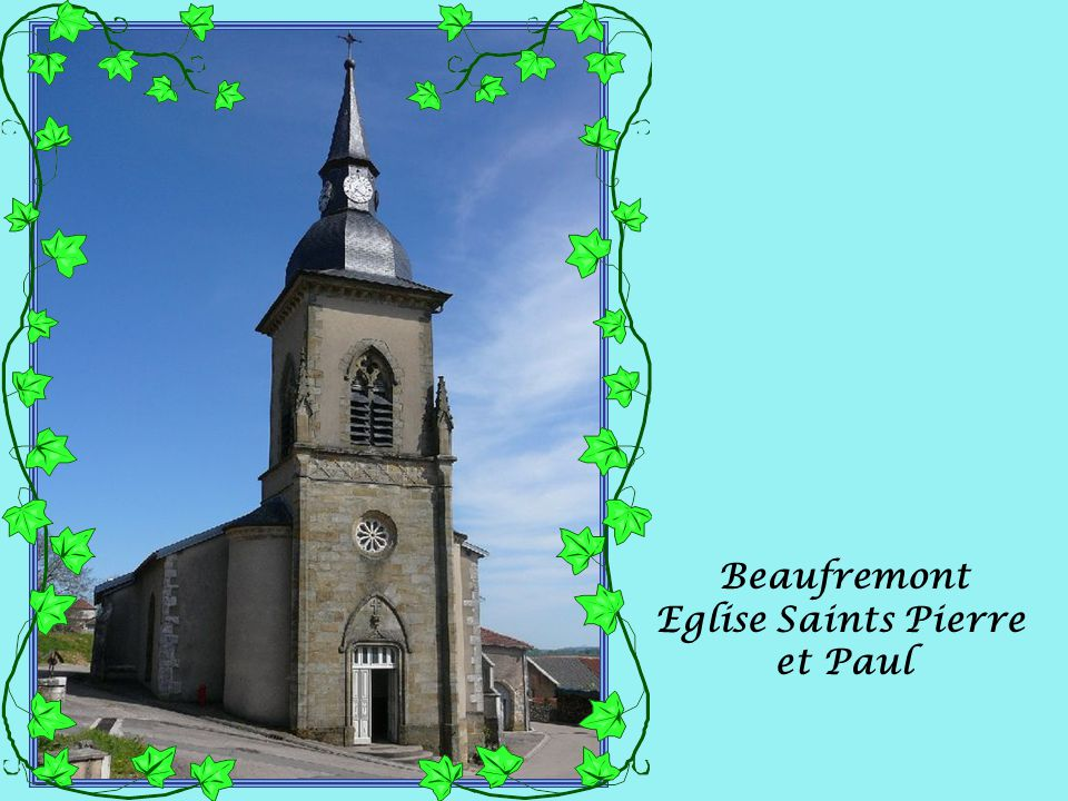 Beaufremont Eglise Saints Pierre et Paul