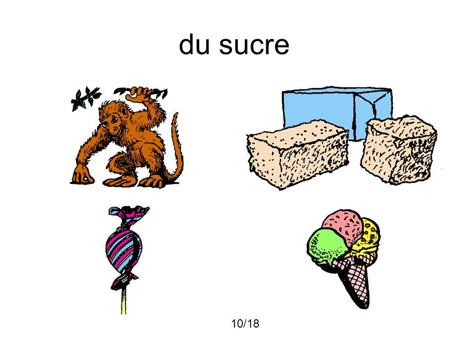 du sucre 10/18