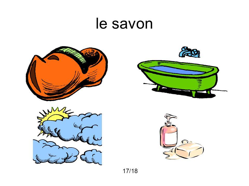 le savon 17/18