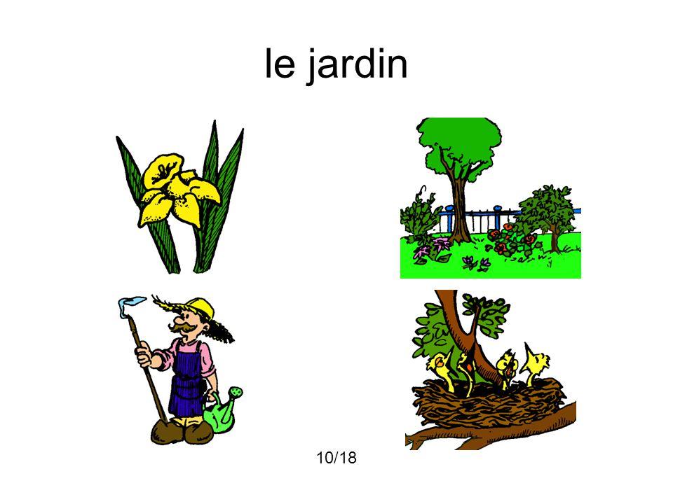 le jardin 10/18