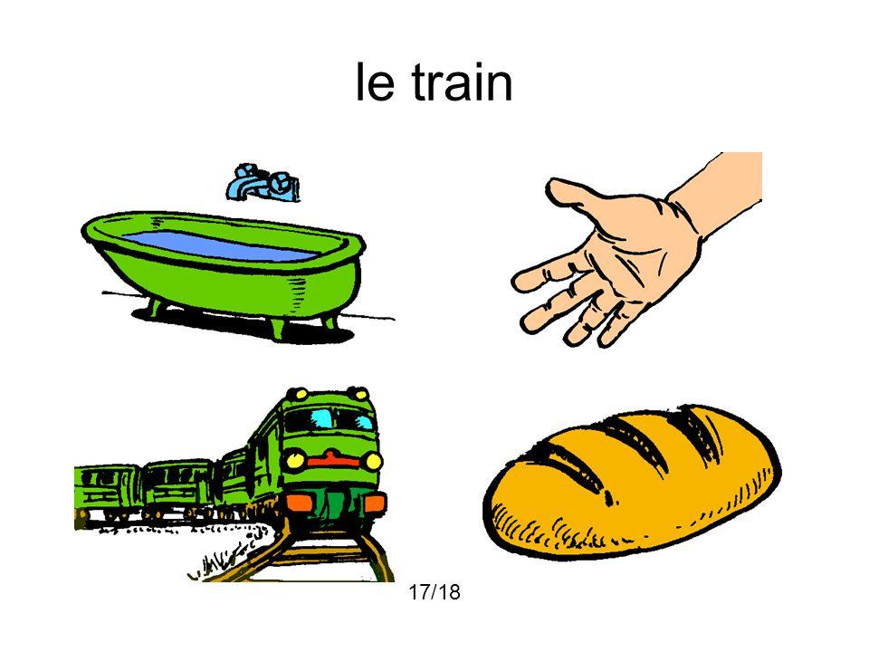 le train 17/18
