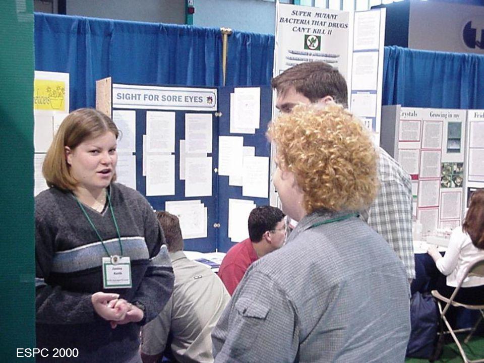 Le 3 mai 2003ESPC Info pour juges7 Compétences d'un juge Expérience Expo-sciences régionale Expo-sciences d'une école Éducation post-secondaire En sciences En génie Expérience comme évaluateur Enseignant, Enseignant-adjoint, Professeur.