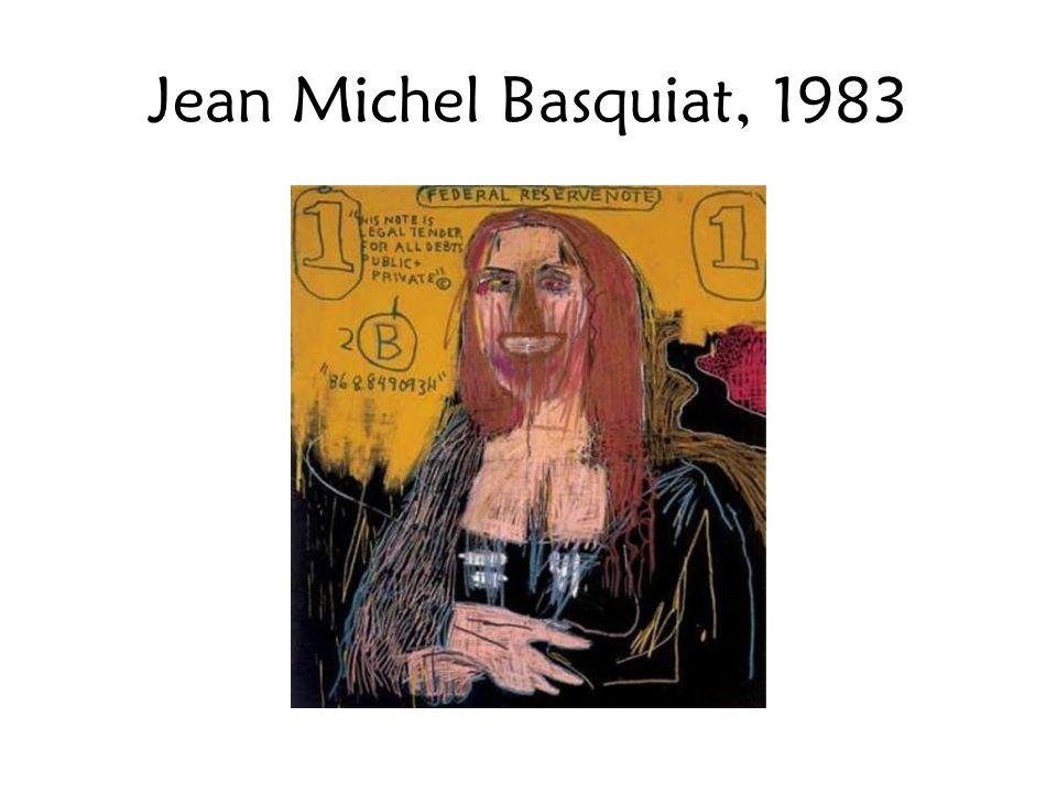 Jean Michel Basquiat, 1983