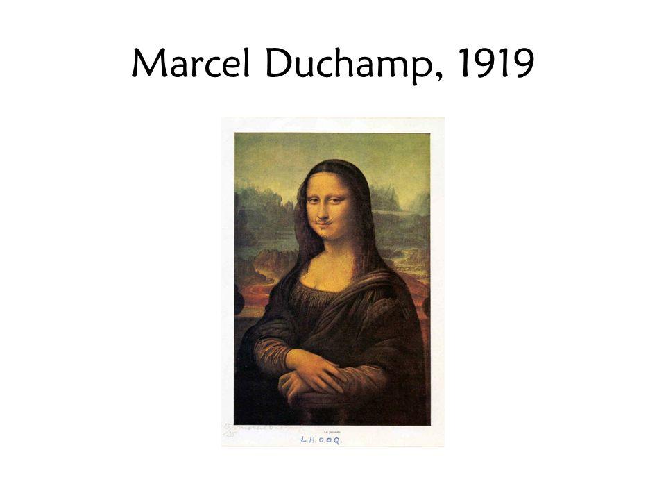 Marcel Duchamp, 1919