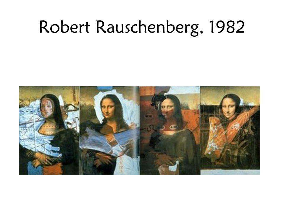 Robert Rauschenberg, 1982