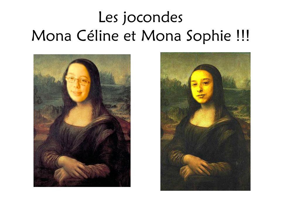 Les jocondes Mona Céline et Mona Sophie !!!