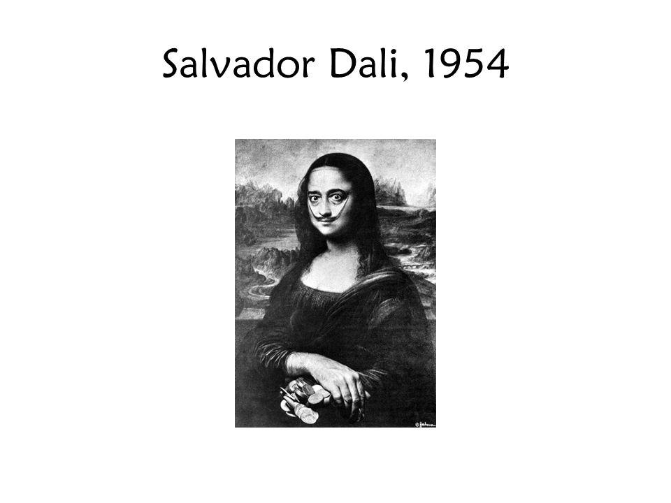 Salvador Dali, 1954