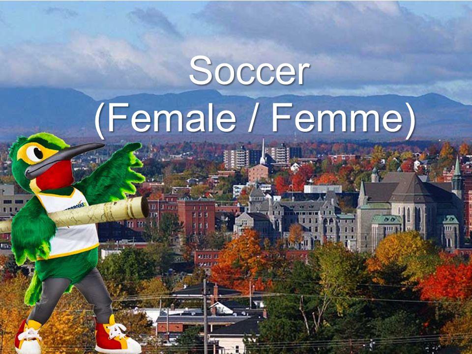 Soccer (Female / Femme)
