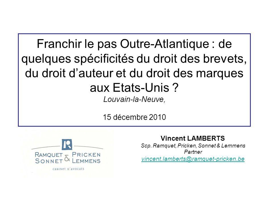 Introduction - Plan de l'exposé I.Introduction II.