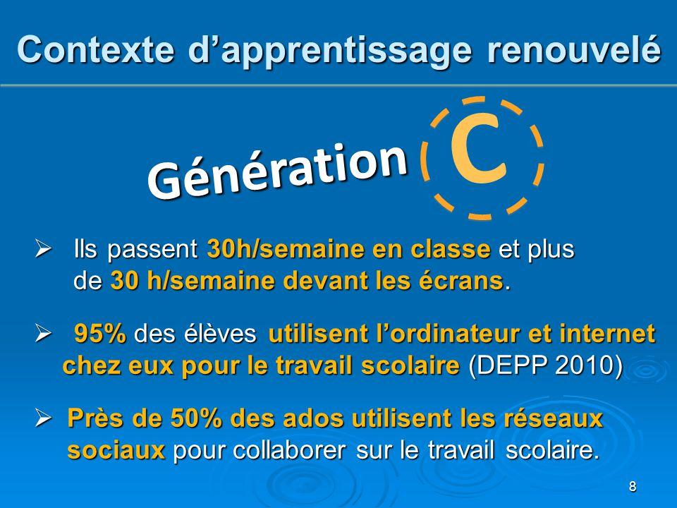 De nombreuses réformes pertinentes et enviées ont été mis en place ces dernières années, et pourtant :  La France est l'un des pays où l'environnement familial a le plus d'impact dans la réussite d'un enfant.
