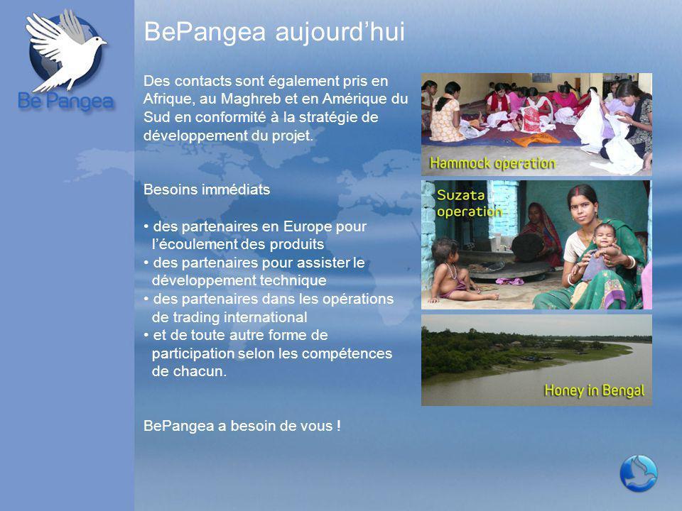 BePangea aujourd'hui Des contacts sont également pris en Afrique, au Maghreb et en Amérique du Sud en conformité à la stratégie de développement du pr