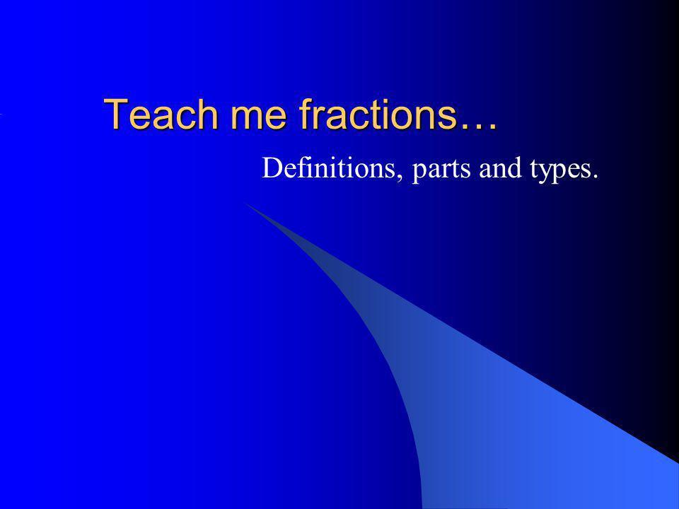 Quelle fraction correspond au model?