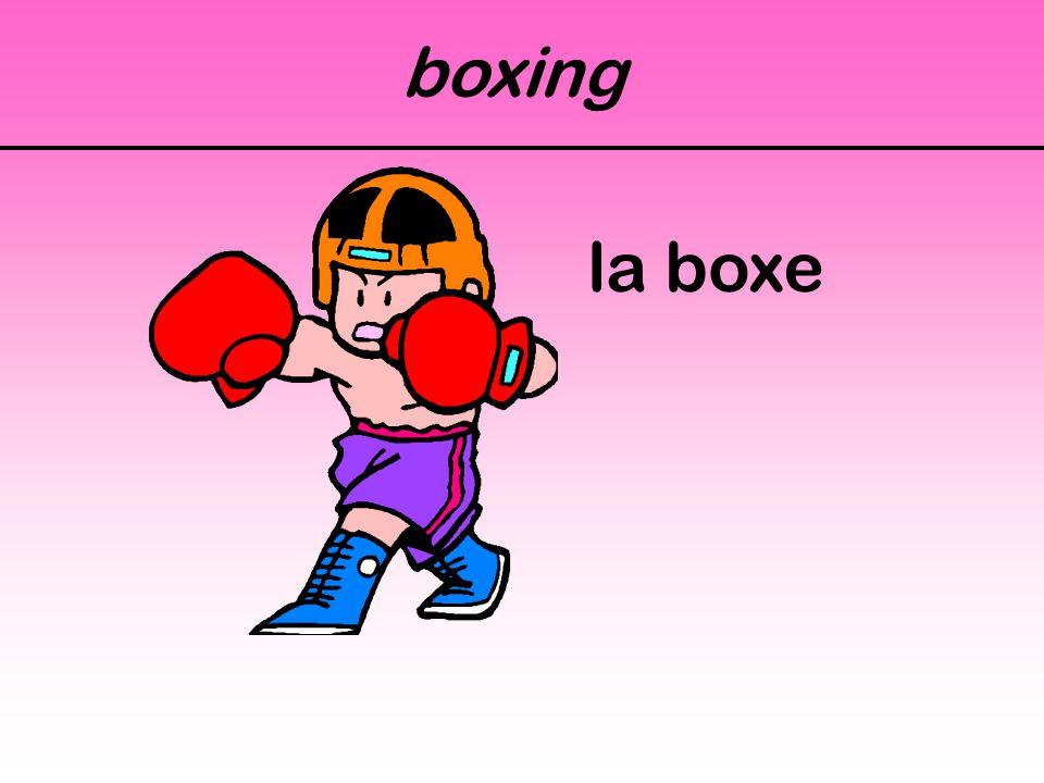 boxing la boxe