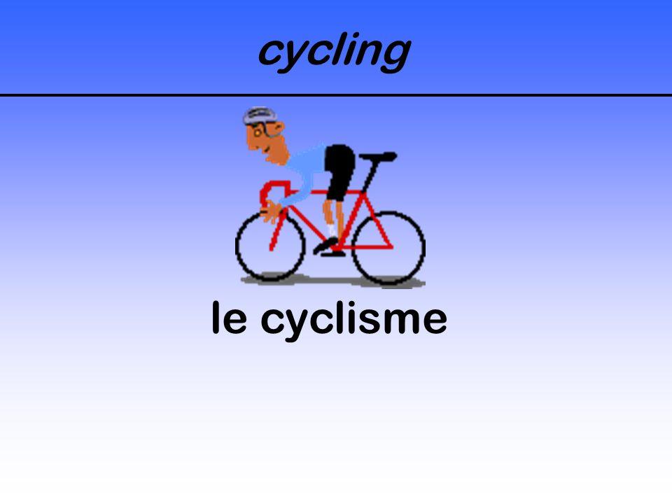 cycling le cyclisme