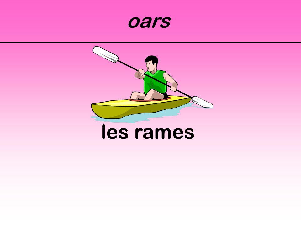 oars les rames