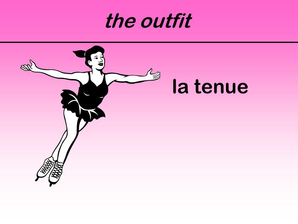 the outfit la tenue