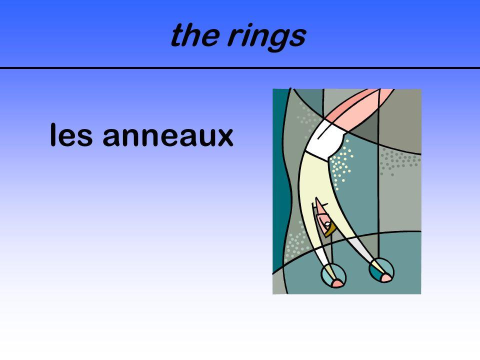 the rings les anneaux