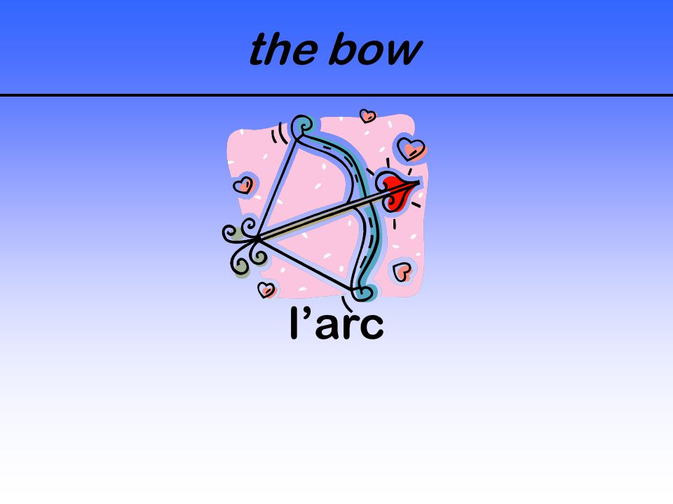 the bow l'arc