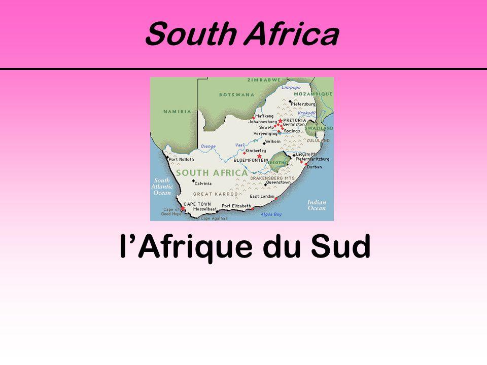 South Africa l'Afrique du Sud