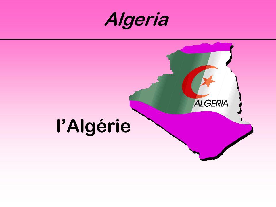Algeria l'Algérie