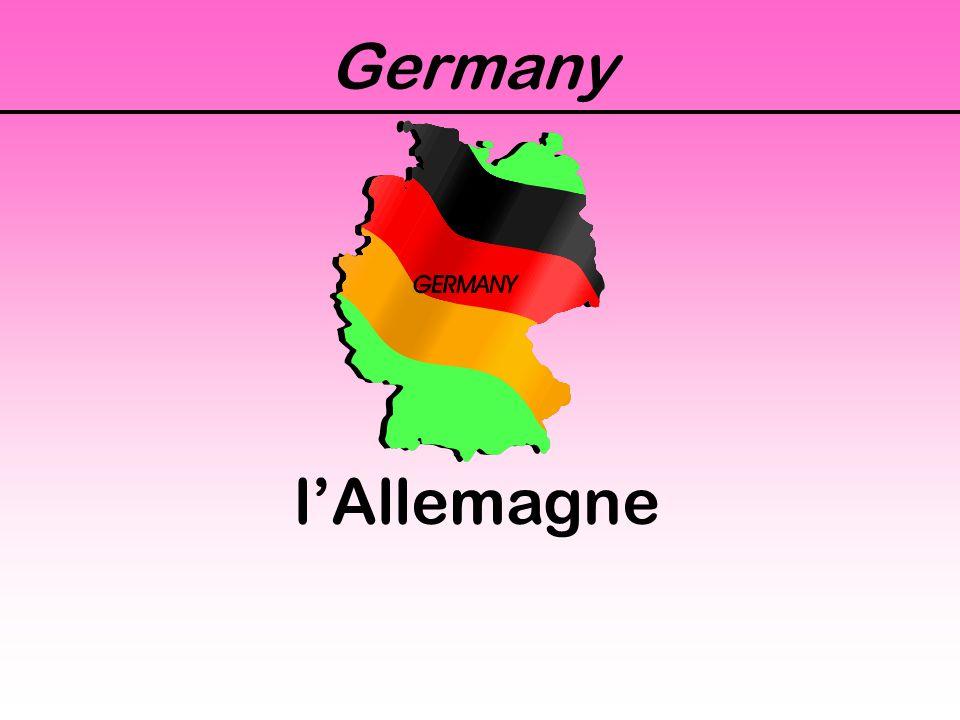 Germany l'Allemagne